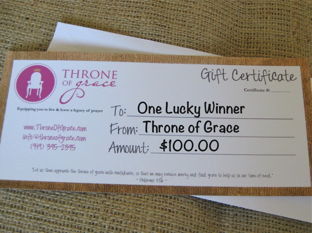 Gift Certificate_100 Dollars